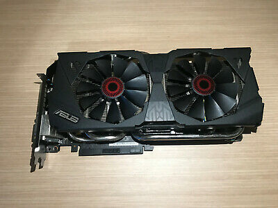 Tarjeta Grafica Asus Strix Geforce GTX 980 OC edition - Graphics Card