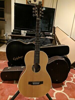 Recording King RP-A9M All Solid Single 0 Acoustic Guitar, with Fishman preamp