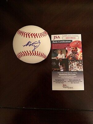 ALEX VERDUGO AUTOGRAPHED Signed 2018 Dodgers 60th MLB Baseball