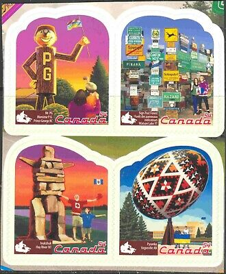 2009 Canada #2336 Self-Adhesive (MNH) Booklet Block of 4 Roadside Attractions