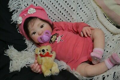 Reborn Baby GIRL Doll GEORGIA was KIMBER by Donna RuBert COMPLETED