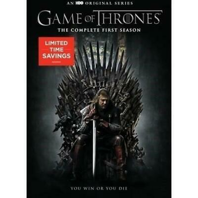 Game Of Thronesthe Complete First Season Dvd