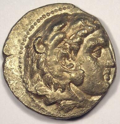 Alexander the Great III AR Tetradrachm Coin - 336-323 BC - Choice XF Condition!