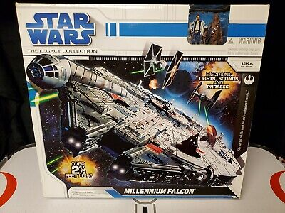 Star Wars Legacy Collection 2008 Millenium Falcon Misb