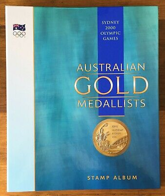 Australia Post Sydney 2000 Olympic Games Australian Gold Medallists Stamp Album
