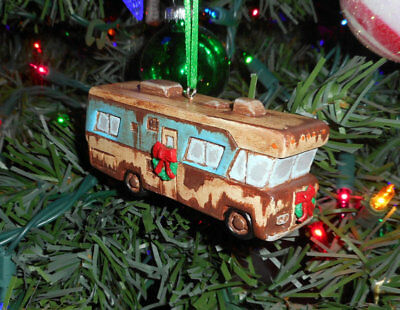 OOAK HANDMADE Christmas Vacation Cousin Eddie's RV Ornament Condor NOT Hallmark