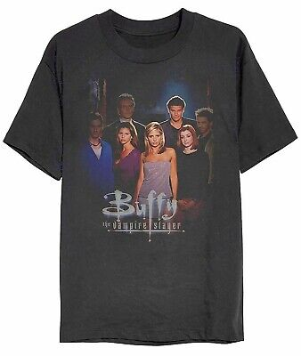 Buffy The Vampire Slayer - Group Shot - Official Mens T Shirt
