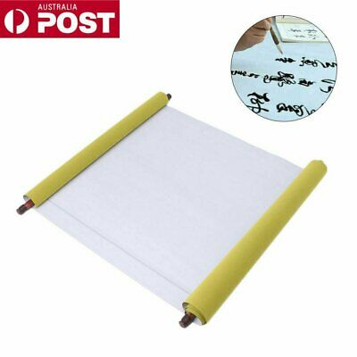 Reusable Chinese Magic Cloth Water Paper Calligraphy Fabric Book Notebook MN