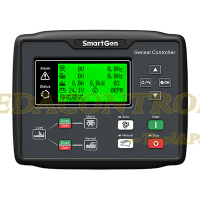 SmartGen HGM6120CAN Generator controller, AMF + one mains one gen system +CANBUS