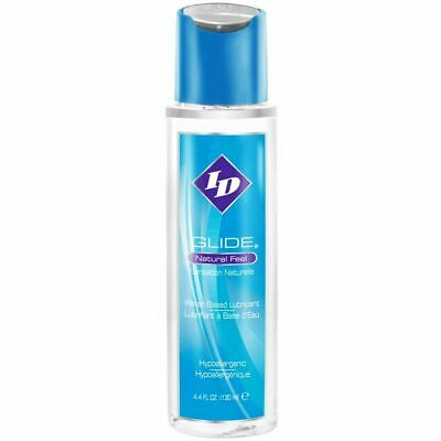 ID Glide Lube Water Based Natural Feel Personal Sex Lube Lubricant 4.4 oz 130ml