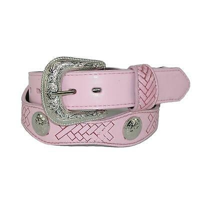 New Rogers-Whitley Kids' Western Belt with Conchos