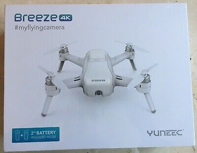 YUNEEC Breeze 4K 13MP QuadCopter Drone Bundle with Battery (NEW UNUSED) SEALED