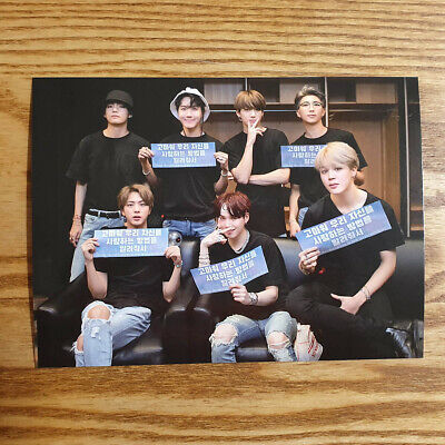 Official Postcard BTS Love Yourself World Tour New York DVD Genuine