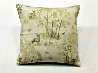 """Voyage 16/"""" Linen Cushion Covers /""""Wallace Stag/"""""""
