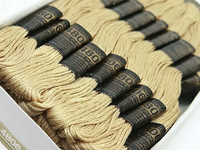 Cotton Sewing Thread Needlepoint Embroidery Skeins Cross Floss Stitch 2624