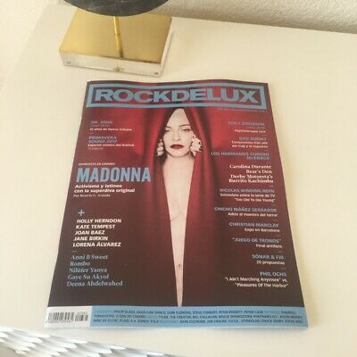 Madonna Madame X rare gay Magazine SPAIN ROCKDELUX JULY19 COVER two last copies