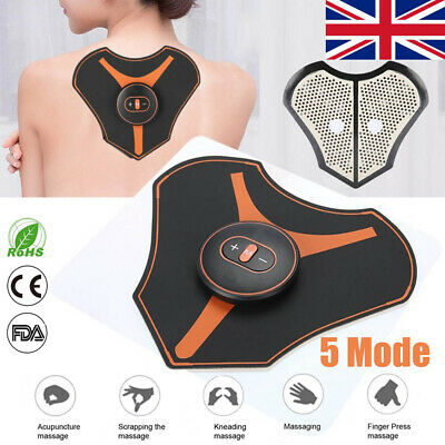 Elactric Neck back Body Massagers Acupuncture Mini Magic Pad 5 Mode Pain Relief