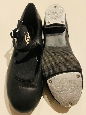 Capezio Brand New Black Showtime Tapper Tap Shoes Child Size 5 1/2