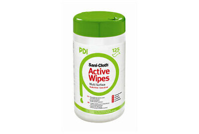 PDI Sani-Cloth Multi-Surface Active Wipes - 6 Tubs of 200 Wipes