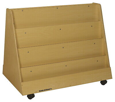 Childcraft Mobile Book Display, Double Sided, 36 x 23-3/4 x 30-1/4 Inches