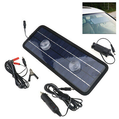 Car Motorcycle Solar Trickle Panel 12V 4.5W Power Portable Battery Charger