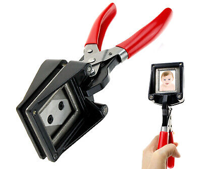 Passport ID Photo Cutter 35Mm X 45Mm Certificate Picture Punch Handheld