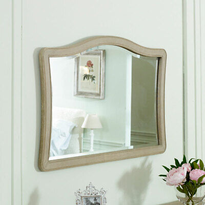 Vintage French style wall mirror overmantel shabby chic ornate living room decor