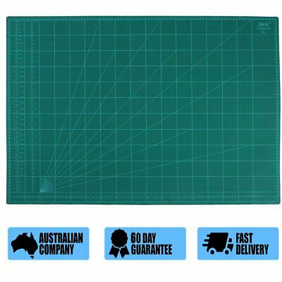 A1 Thick 5-Ply Self Healing Craft Cutting Mat 2-Side Print Quilting