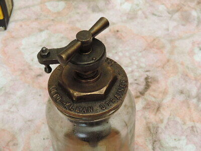 auto klean strainer engine fuel oil filter lubrikation vintage car Brass Messing