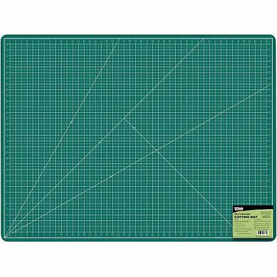 "36"" x 48"" GREEN/BLACK Professional Self Healing Non-Slip PVC Cutting Mat"
