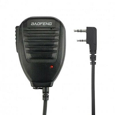 Baofeng BF-S112 Two Way Handheld Radio Speaker Twin Right Angle Ear 3.5mm Stereo