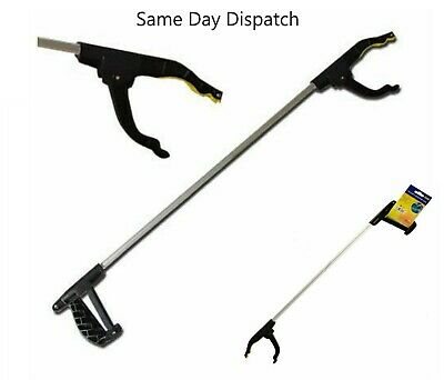 Long Arm Litter Pick Up Extra Extension Tool Grabber Easy Reach Picker Reaching