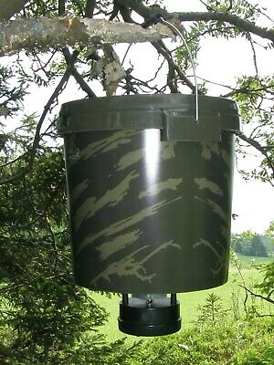 Wildfutterautomat, Moultrie All-In-One Feeder Kirrautomat mit 18 l Behälter