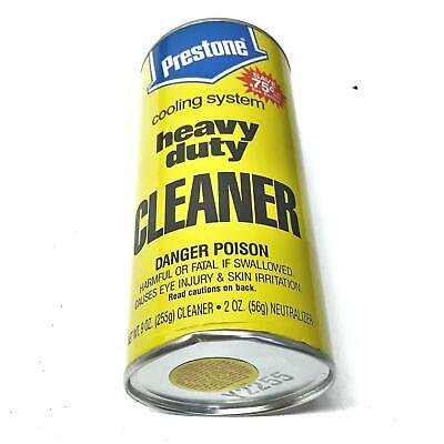 Prestone Cooling System Cleaner AS-100/R [Lot of 12] NOS