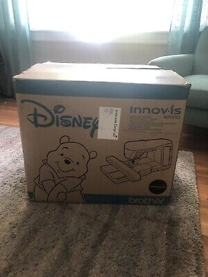 Brother Innovis 4000D Embroidery Sewing Machine  Disney Edition SLIGHTLY Used