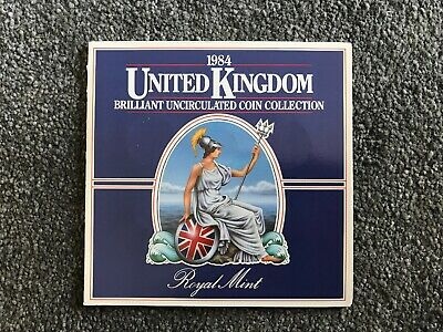United Kingdom Brilliant Uncirculated Coin Collection 1984