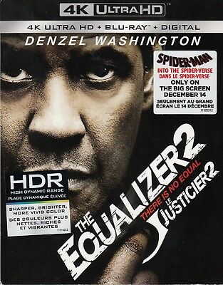 The Equalizer 2 (4K Ultra Hd/Bluray)(2 Disc Set)(Used)