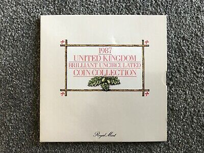United Kingdom Brilliant Uncirculated Coin Collection 1987