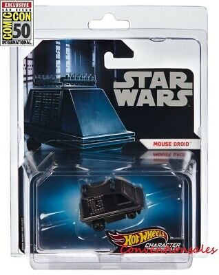 Sdcc 2019 Mattel Hot Wheels Star Wars Mouse Droid Character Die-Cast Vehicle Car