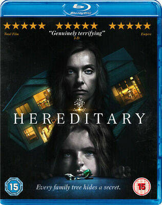 Hereditary Blu-Ray (2018) Toni Collette ***NEW FAST DELIVERY*** With Slip Case