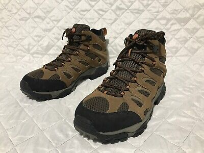 276cda7fac0c8 Merrell Moab Mid Ankle Waterproof Earth Hiking Trail Boots J88623W Men's Sz  11