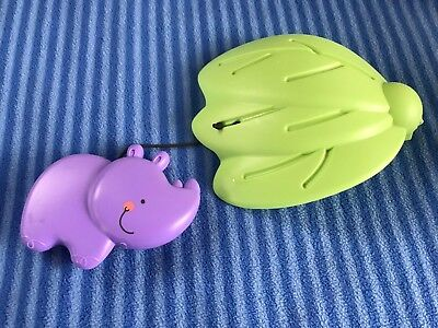 Fisher Price Luv U Zoo Jumperoo Hanging Hippo//Leaf Toy Replacement Part