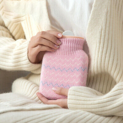 Winter Hand Warmer Silicone Mini Student Foot Neck With Cover Hot Water Bottle