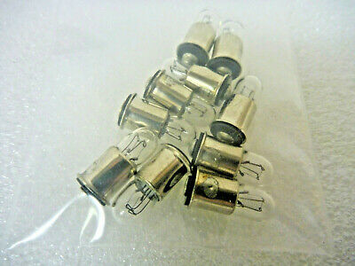 VCH International  CM-367  Miniature Lamp 10V .04A T1-3//4 MID-FLG 10pcs