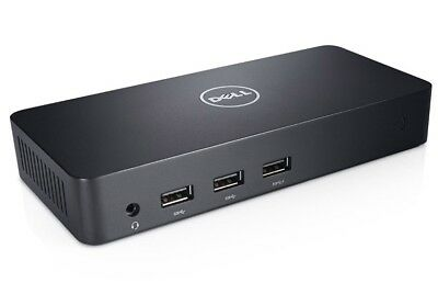 Dell D3100 USB3 Ultra HD 4K Triple Video Port Replicator  Universal Dock Station