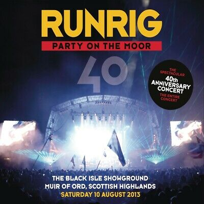 Runrig - Party on the Moor: 40th Anniversary Concert Live