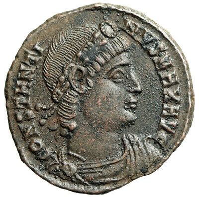 HIGH QUALITY PORTRAIT Constantine I The Great Coin Minted in Nicomedia CERTIFIED