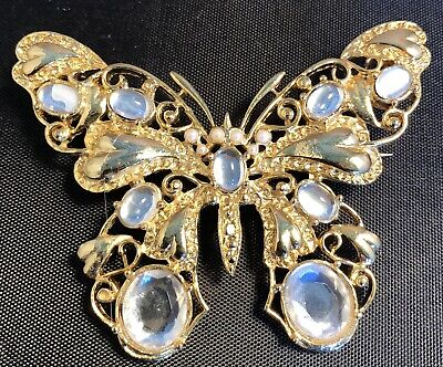 Vintage Butterfly Brooch Auction