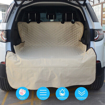 Pet Dog Car SUV Truck Seat Cover Quilted Rear Back Waterproof Protector Pad Mat