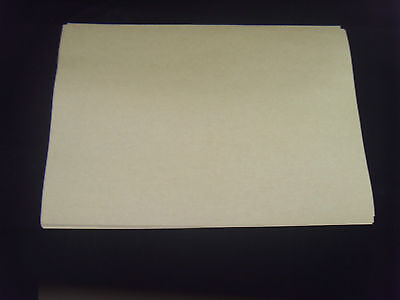 50 Sheets Brown Kraft  Self Adhesive  A4 Size Paper YELLOW BACKING EASY PEELING